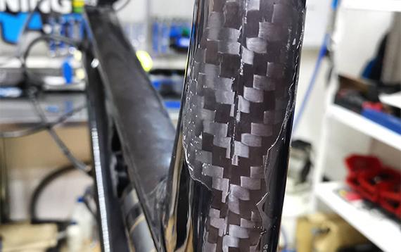 Reparacion fibra de carbono 11